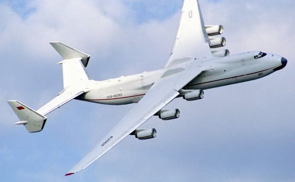 Antonov An-225 at Farnborough