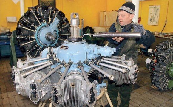 самолета Ан-2 с двигателем