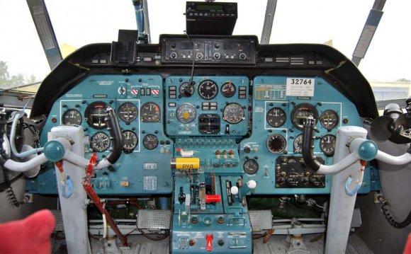 Кабина пилотов Ан-3 (c) MAG-1