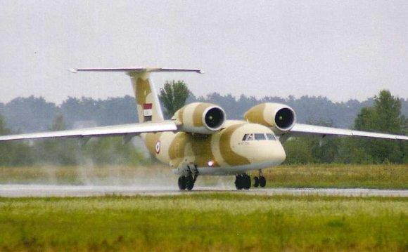 первого самолета Ан-74
