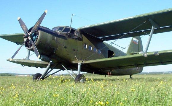 Полет на самолете АН-2 в