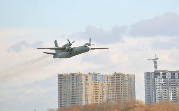 самолетов Ан-32Б в вариант