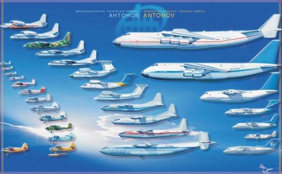 Самолёты ОКБ Антонов