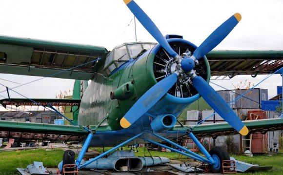 Ан-2 в музее самолетов в Риге
