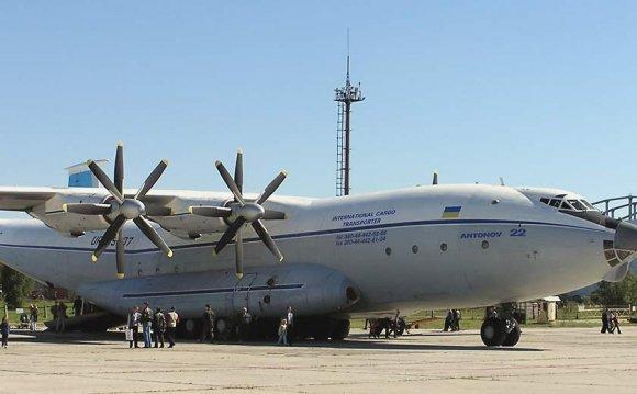 самолет Ан-22. ВТР