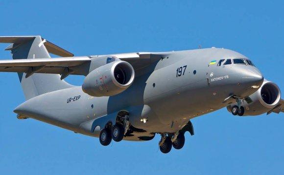 Украинский самолет АН-178 стал